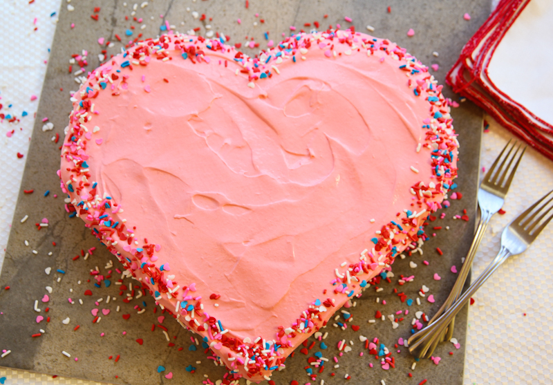 Two Heart Cake Images : How 2 Make A Heart Shaped Cake.   HOW2GIRL