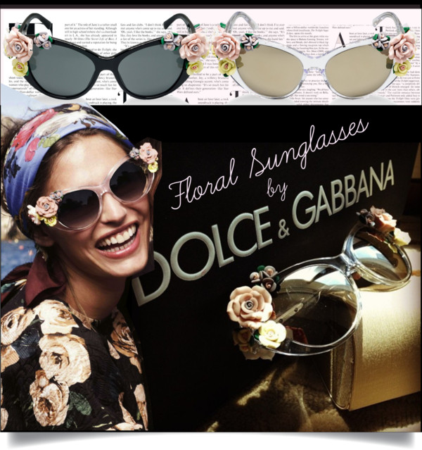 Floral-Sunglasses-by-Dolce-Gabbana